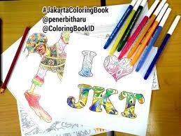 Penerbitharu ColoringBookID Betawi Jakarta Jakartaindonesia Indonesia Jkt Ilovejakarta Batik Indonesianbatik Adultcoloringbook Coloringbook