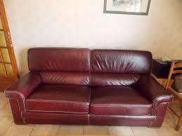 type de cuir pour canapé canapés en cuir occasion annonces achat et vente de canapés en