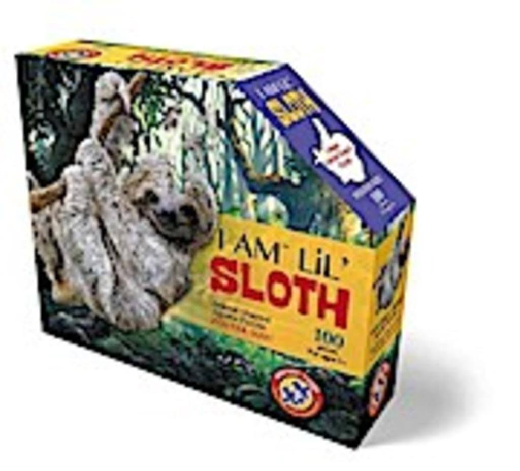 Madd Capp I Am Lil' Sloth Shape Puzzle - 100pcs