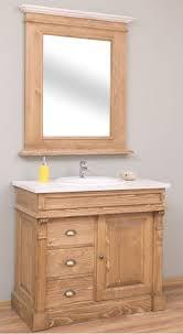 casa padrino landhausstil badezimmer set naturfarben weiß 1 waschtisch 1 wandspiegel massivholz badezimmer möbel im landhausstil