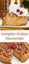 Pumpkin Pie With Pecan Praline Topping by Pumpkin Praline Cheesecake Recipe For Your Fall And Holiday Table