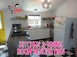 DIY Dorks Kitchen Dining Room Renovation