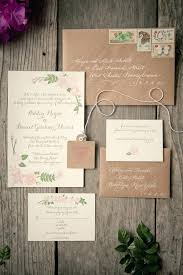 Vintage Wedding Invitations Uk Rustic For Travel