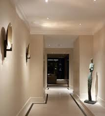 ceiling downlight placement for wall pictures artwork