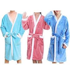 Meijunter Kids Bathrobes Beach Pool Swimming Towel Girls Boys Sleepwear Pajamas