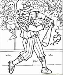 Unbelievable Design Baseball Coloring Pages Printable