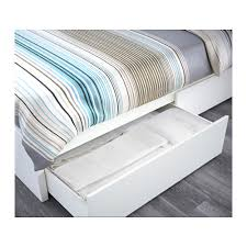 Malm Bed Assembly by Malm Bed Frame High W 4 Storage Boxes Queen Ikea