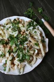 cuisiner morue salade de morue et pois chiche à la portugaise culinaire