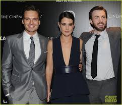 Chris Evans Sebastian Stan Heat Up Captain America NYC Premiere