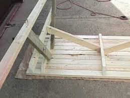 Plans To Build A Wooden Picnic Table by Make A Picnic Table Free Plans