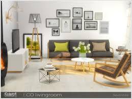 einrichtung sims 4 wohnzimmer ideen