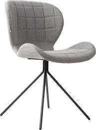 esszimmerstuhl omg stuhl zuiver stoff hellgrau