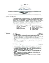 Army Resume Sample Example Military Examples