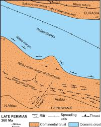 Where Does Seafloor Spreading Take Place by Late Palaeozoic U2013early Cenozoic Tectonic Development Of Southern