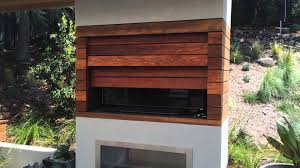 Exterior Automatic Cabinet Door for an outdoor TV