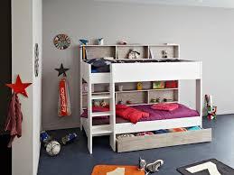 parisot tam tam bunk bed white and loft grey