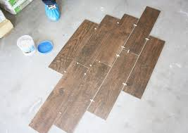 Tile Spacers Home Depot by Wood Grain Tile Flooring That Transforms Your House The