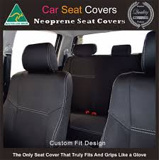 Seat Covers Fit Toyota Fortuner Front (FB) & Rear Waterproof Premium ...