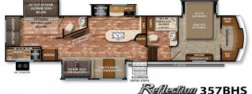 Fifth Wheel Bunkhouse Floor Plans by Best Family Friendly Rvs Of 2016 U2013 Welcome To The General Rv Blog