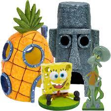 Spongebob Fish Tank Ornaments by Penn Plax