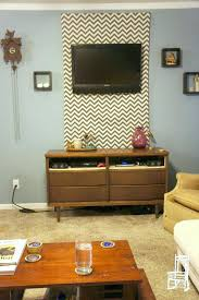 How To Hide Cords On Wall Mounted Tv Ways Or Decorate Around The Interior Design Above