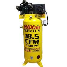 Trinco Blast Cabinet Manual by Maxair 60 Gal Vertical 208 230 Volt Electric Air Compressor