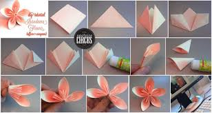 Origami With A4 Paper Flower Instructions