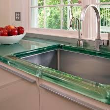 104 Glass Kitchen Counter Tops Top Thickglass Aag Round Edge