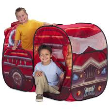 Playhut Big Red Fire Engine Pop Up Play Tent | Fireman/Firetruck ... A Play Tent Playtime Fun Fire Truck Firefighter Amazoncom Whoo Toys Large Red Engine Popup Disney Cars Mack Kidactive Redyellow Friction Power Fighter Rescue Toy 56 In Delta Kite Premier Kites Designs Popup Kids Pretend Playhouse Bestchoiceproducts Rakuten Best Choice Products Surprises Chase Police Car Paw Patrol Review Marshall Pacific Tents House Free Shipping Mateo Christmas Fire Truck For Kids Power Wheels Ride On Youtube