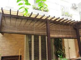 Catchy Outdoor Bamboo Curtains and Blinds Sunshades Resources