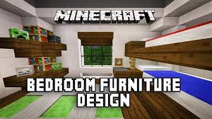 Minecraft Tutorial How To Make A Modern Bedroom With Bunk Beds