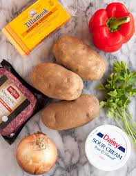 For Twice Baked Potatoes You Need 4 Russet 3 1 2 To Pounds Cups Filling Cooked Vegetables Meat Tofu Or Seitan Beans