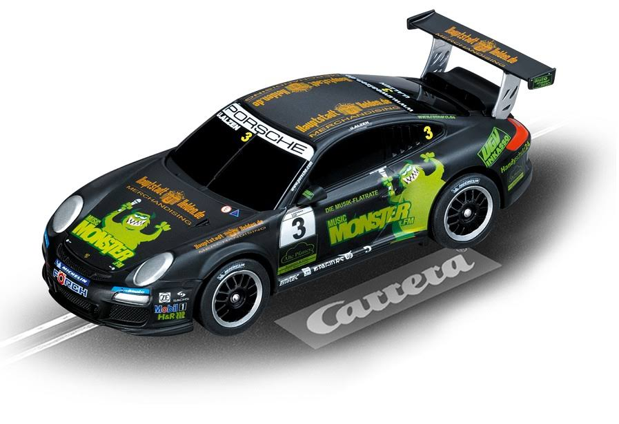 Carrera Slot Cars Porsche GT3 Monster FM Go Car Model Kit