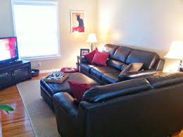 Red And Black Living Room Ideas by Home Design 79 Marvellous Basement Living Room Ideass