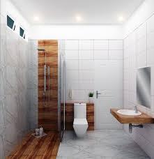helles badezimmer design fliesen weiß modernen stil 3d