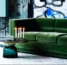 Green Velvet Sofa Emerald Ikea Reviews