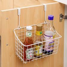 heißer metall lagerung korb küche tür schrank schublade zurück hanger badezimmer büro kleinigkeiten organizer lagerung rack haken halter