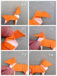 Paper Craft For Kids Step By Origami Corgi Instructions Dogs