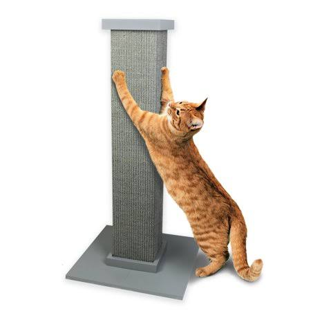 SmartCat Ultimate Scratching Post- Gray