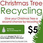 Boy Scout Christmas Tree Recycling San Diego by Boy Scout Troop 375 Will Recycle Christmas Trees On Jan 7 U0026 8