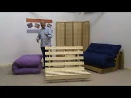 Ikea Futon Chair Instructions by Funky Futon Co Frame Assembly Youtube