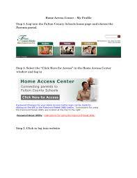 Fulton County Schools Home Access Center