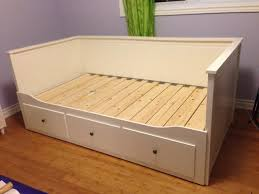 Ikea Hemnes Bed Frame Instructions by Bedroom Surprising Hemnes Daybed Frame With 3 Drawers White