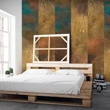 exklusive 3d design vlies tapete beton gold