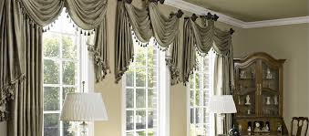 Custom Window Treatments Curtains Shades Blinds and Drapes For