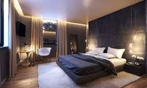 schlafzimmer modern gestalten ideen dunkel beige anthrazit