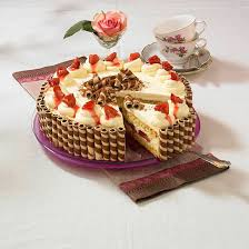 pflaumen waffel torte