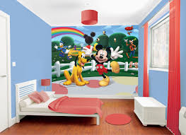 Image Of Cute Mickey Mouse Bedroom Decor