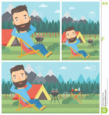 Man Sitting In Folding Chair In The Camp. Stock Vector ... Deckchair Garden Fniture Umbrella Chairs Clipart Png Camping Portable Chair Vector Pnic Folding Icon In Flat Details About Pj Masks Camp Chair For Kids Portable Fold N Go With Carry Bag Clipart Png Download 2875903 Pinclipart Green At Getdrawingscom Free Personal Use Outdoor Travel Hiking Folding Stool Tripod Three Feet Trolls Outline Vector Icon Isolated Black Simple Amazoncom Regatta Animal Man Sitting A The Camping Fishing Line