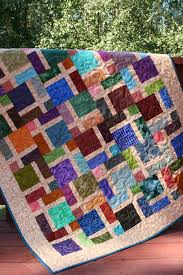 """Window Pane Disappearing Nine Patch"""" quilt"""